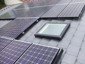 ⑧太陽光パネルの設置2