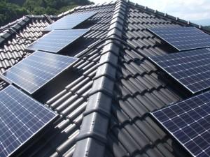 ⑬太陽光パネルの設置